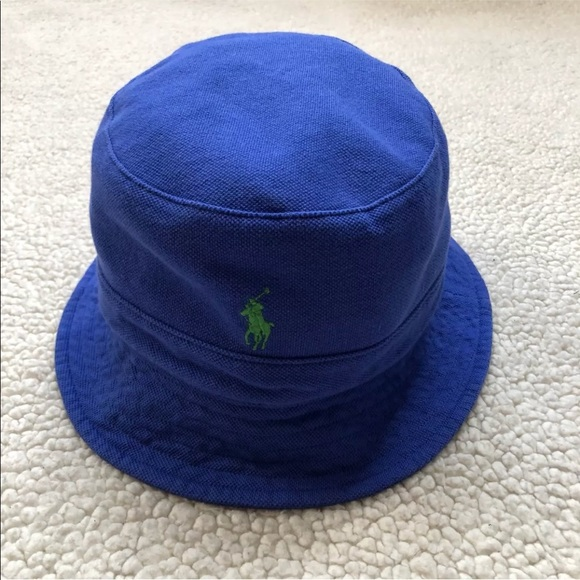POLO RALPH LAUREN Mesh Bucket Hat w Pony cdf2811234ce